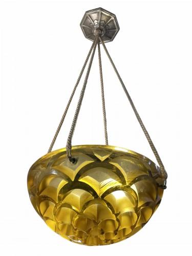 1926 René Lalique - Chandelier Rinceaux  - Lighting Style Art Déco