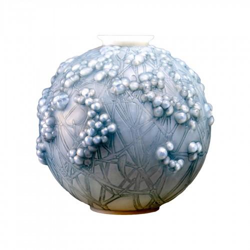 1924 René Lalique - Vase Druide