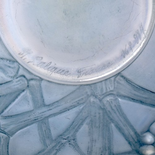 20th century - 1924 René Lalique - Vase Druide