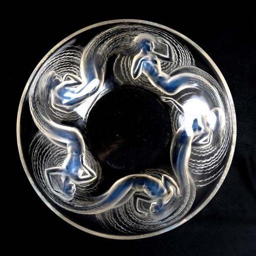 Glass & Crystal  - 1932 René Lalique - Bowl Calypso
