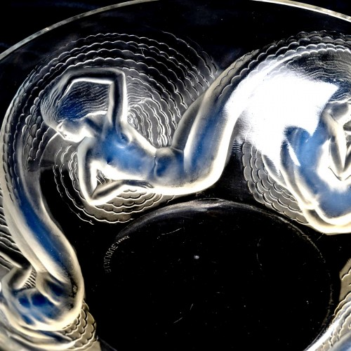 1932 René Lalique - Bowl Calypso -