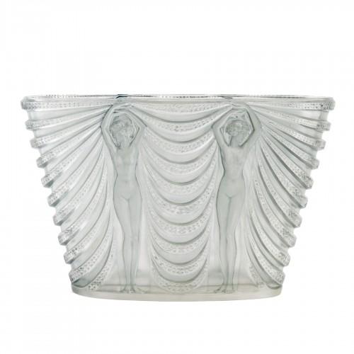 1937 René Lalique - Vase Terpsichore