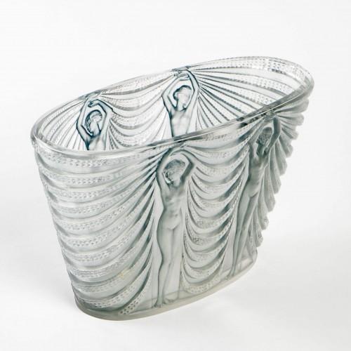 1937 René Lalique - Vase Terpsichore - Glass & Crystal Style Art Déco