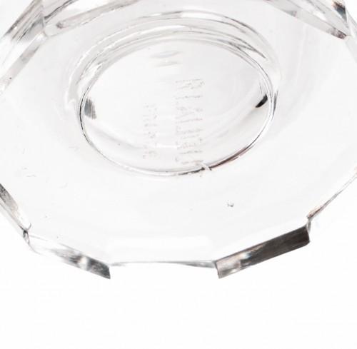 Antiquités - 1938 René Lalique  - Lille Glasses Set  of 25 Pieces