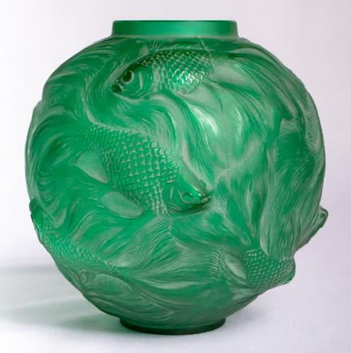 1924 René Lalique - Vase Formose -