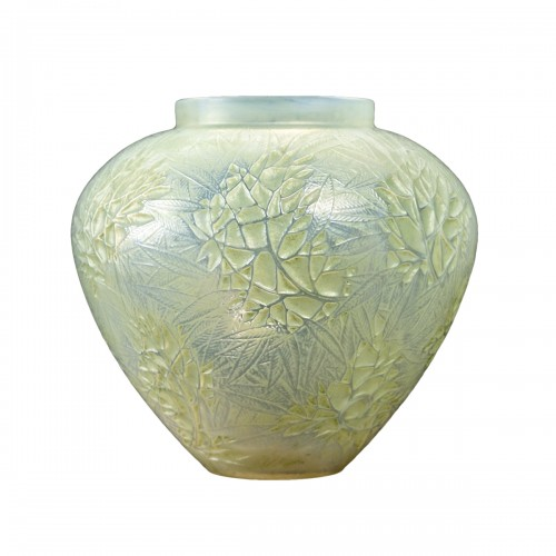 1923 René Lalique - Vase Estérel