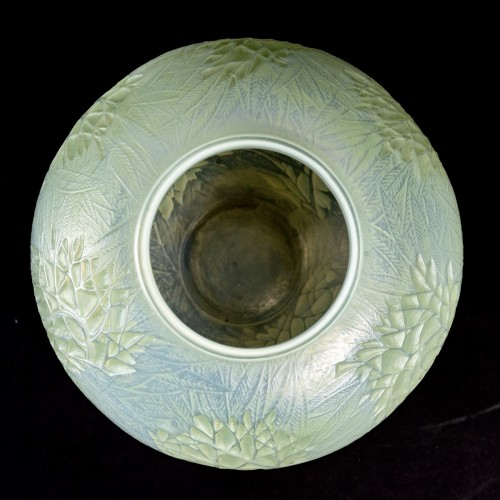 20th century - 1923 René Lalique - Vase Estérel