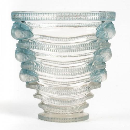 1939 René Lalique - Vase Saint-marc -