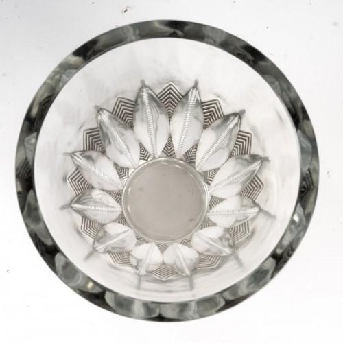 20th century - 1934 René Lalique - Vase Gerardmer