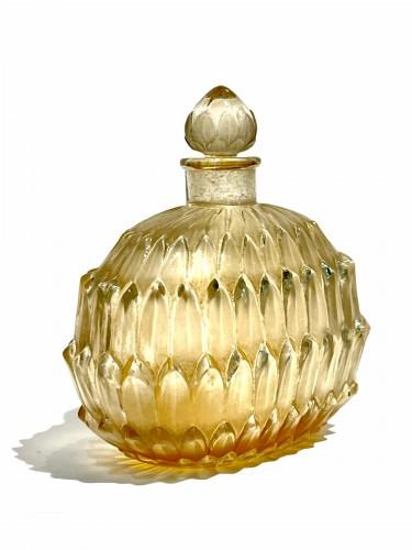 1920 René Lalique - Perfume Bottle Amelie - Glass & Crystal Style Art Déco
