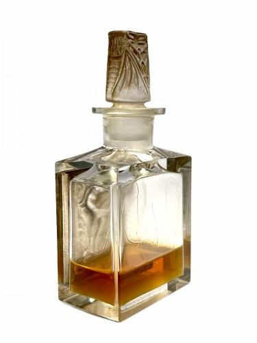 1920 René Lalique  For Coty - Perfume Bottle l'Effleurt -