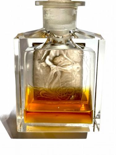 20th century - 1920 René Lalique  For Coty - Perfume Bottle l'Effleurt