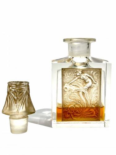 Art Déco - 1920 René Lalique  For Coty - Perfume Bottle l'Effleurt