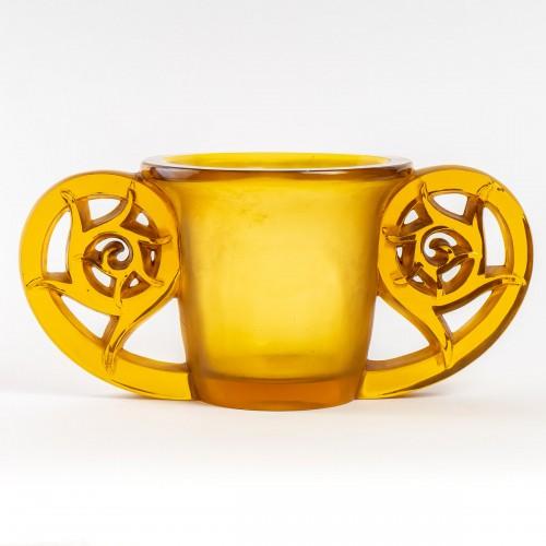 Glass & Crystal  - 1926 René Lalique - Pierrefonds Vase