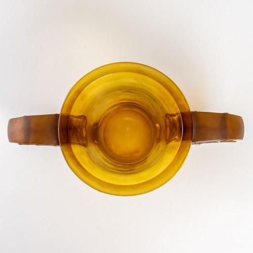 20th century - 1926 René Lalique - Pierrefonds Vase
