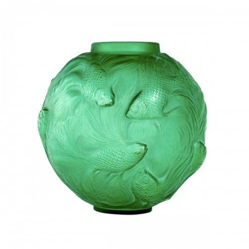 1924 René Lalique - Vase Formose