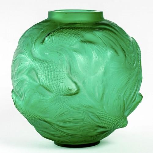 Art Déco - 1924 René Lalique - Vase Formose