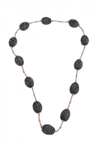 1920 René Lalique - Long Necklace Grosses Graines