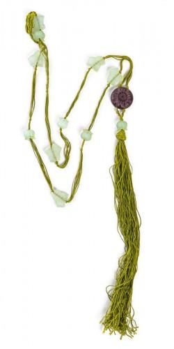 1922 René Lalique Long Necklace Muguet Lierre
