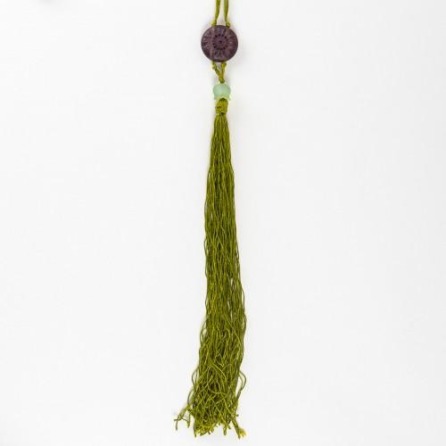 1922 René Lalique Long Necklace Muguet Lierre - Art Déco