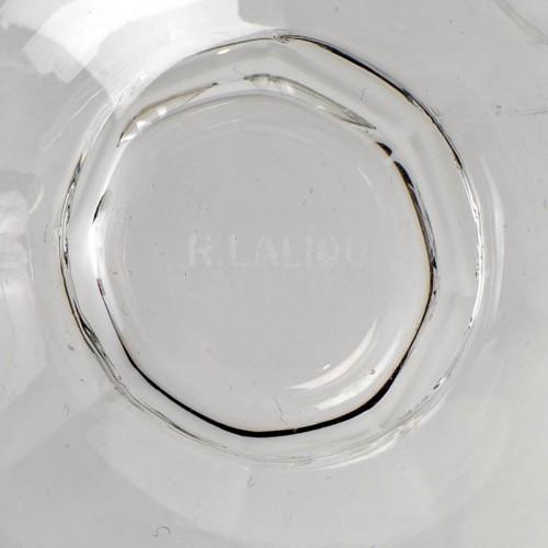 1935 René Lalique - Set Of Quincy Glasses Set - 34 Pieces  - Art Déco