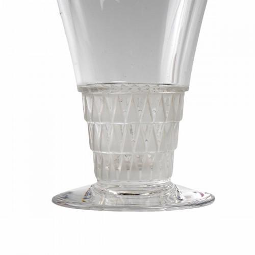 1930 René Lalique -  20 Glasses Bourgueil Wine glass - Glass & Crystal Style Art Déco