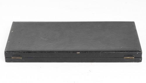 1932 René Lalique - Set Of 12 Barr Swizzle Stick In Glass In Box - Art Déco