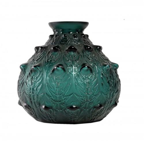 1912 René Lalique - Vase Fougères