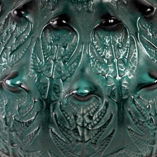 20th century - 1912 René Lalique - Vase Fougères