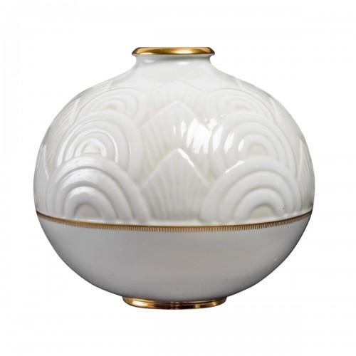 1934 Manufacture de Sèvres - Round Art Deco Vase