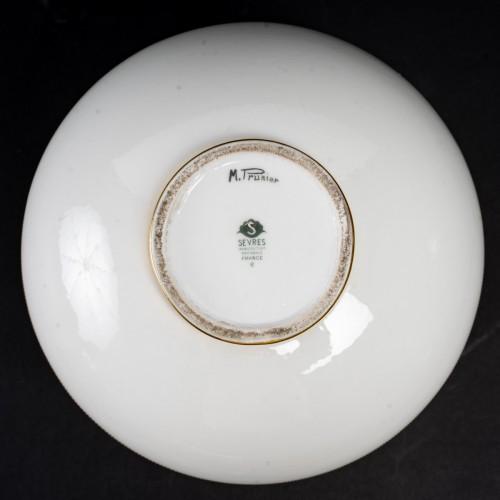Porcelain & Faience  - 1934 Manufacture de Sèvres - Round Art Deco Vase