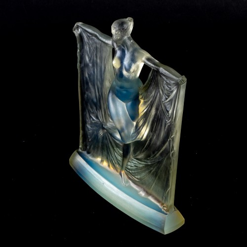 """Art Déco - 1925 René Lalique - Statuette """"Suzanne"""""""