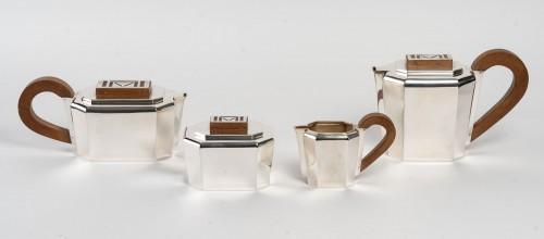 Antique Silver  - 1937 Jean E. Puiforcat - Tea And Coffee Service