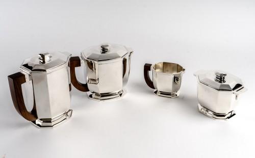 1930 Tétard Frères - Tea And Coffee Service - Antique Silver Style Art Déco