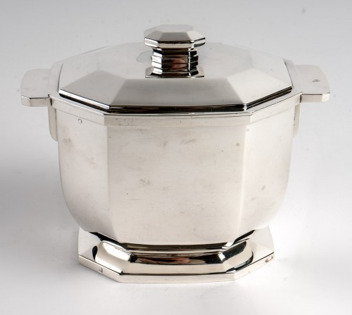 Antiquités - 1930 Tétard Frères - Tea And Coffee Service