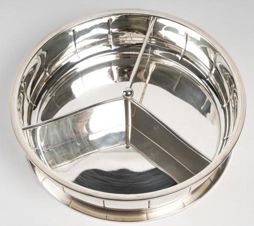 1925 Jean Puiforcat - Tureen Box in Sterling - Art Déco
