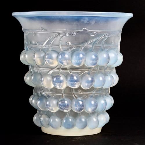 1930 René Lalique - Vase Montmorency - Art Déco