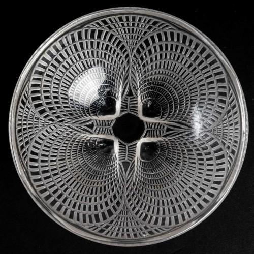 1924 René Lalique - Set Of 10 Coquilles Hand Bowl  - Glass & Crystal Style Art Déco
