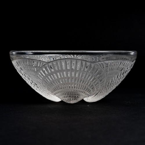 20th century - 1924 René Lalique - Set Of 10 Coquilles Hand Bowl