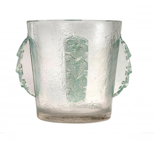 1938 René Lalique - Ice Bucket Vase Epernay