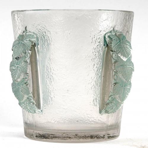 1938 René Lalique - Ice Bucket Vase Epernay - Glass & Crystal Style Art Déco
