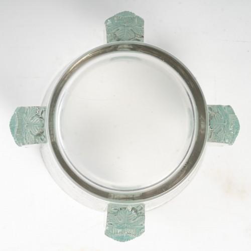 20th century - 1938 René Lalique - Ice Bucket Vase Epernay