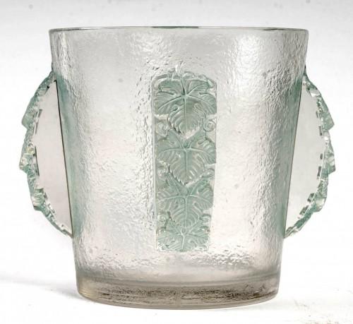 Art Déco - 1938 René Lalique - Ice Bucket Vase Epernay
