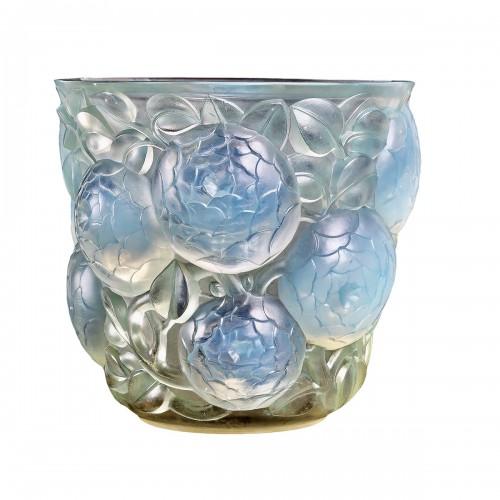 1927 René Lalique - Vase Oran