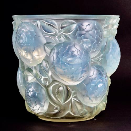1927 René Lalique - Vase Oran - Glass & Crystal Style Art Déco