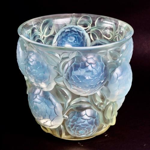 1927 René Lalique - Vase Oran - Art Déco