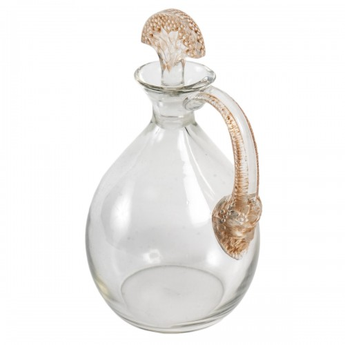 1923 René Lalique For Cusenier - Decanter Satyre