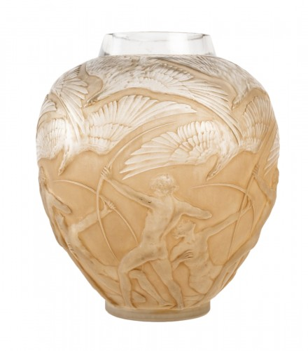 1921 René Lalique - Vase Archers