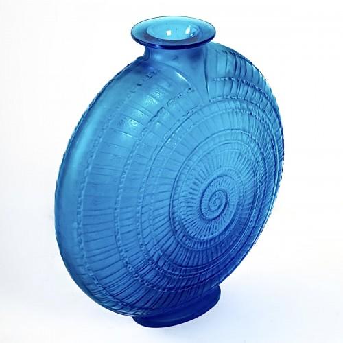 1920 René Lalique - Vase Escargot - Glass & Crystal Style Art Déco