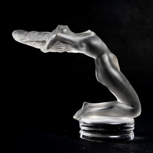 "Glass & Crystal  - 1931 René Lalique - ""Chrysis"" Car Mascot"